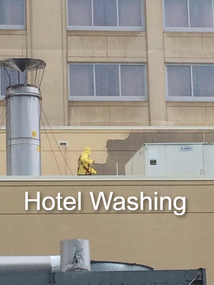 Commercial Pressure Cleaning Hotel Washing