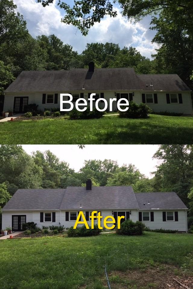 Soft Wash Roof Washing B&A 1-min